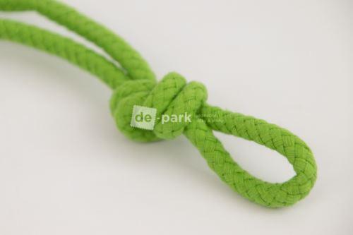 Šňůra - bavlněná - zelená