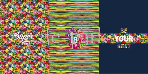 Teplákovina - Flowers - panel