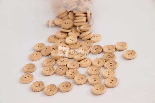 Knoflík dřevěný - malý ,,24,,