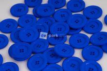 DE-PARK knoflíky - 3cm - královsky modrá