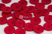 DE-PARK knoflíky - 3cm - malinová