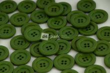 DE-PARK knoflíky - 2cm - zelená