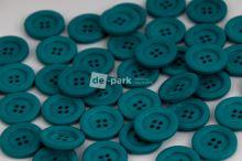 DE-PARK knoflíky - 2cm - petrolejová