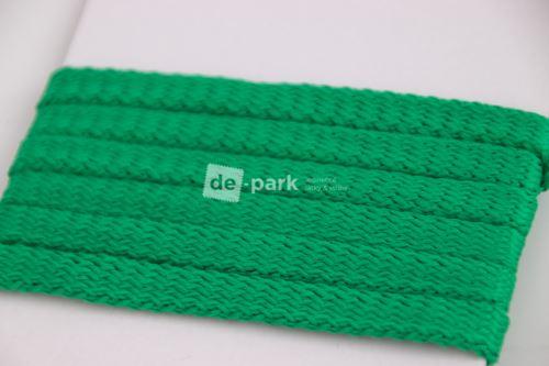 Šňůra - zelená tmavá