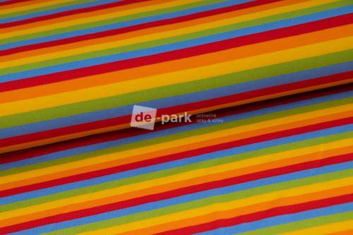 DESIGNED BY DE-PARK - úplet Ovečky z Déčka - pruhy