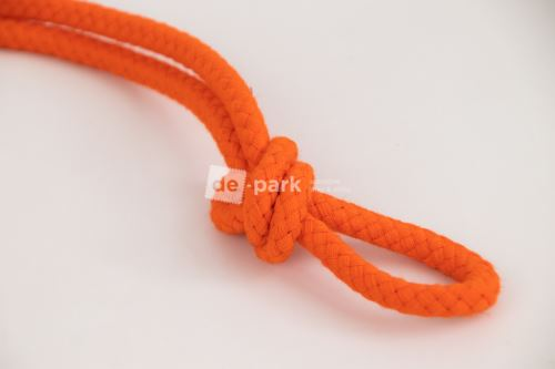 Šnúra - bavlnená - oranžová