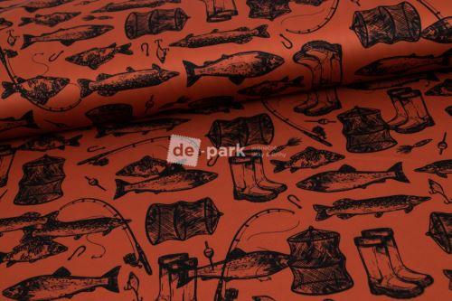 DESIGNED BY DE-PARK - Funkční úplet - Ryby a rybáři
