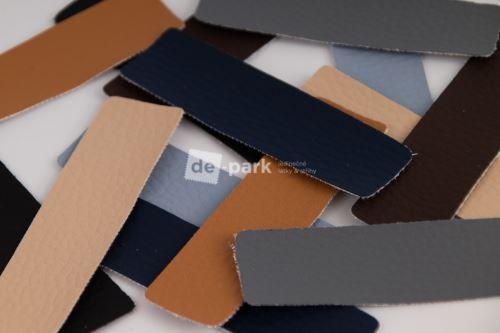 Koženkové obdélníčky - MIX barev I.