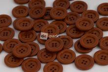 DE-PARK knoflíky - 2cm - hnědá