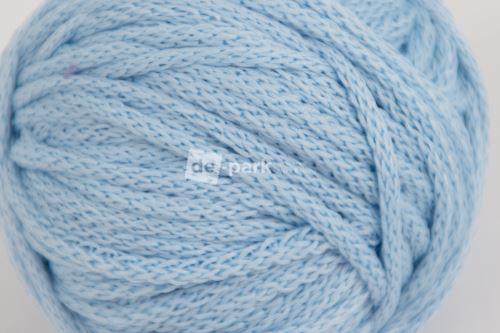 Šňůra kulatá - světle modrá