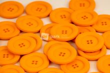 DE-PARK knoflíky - 3cm - oranžová