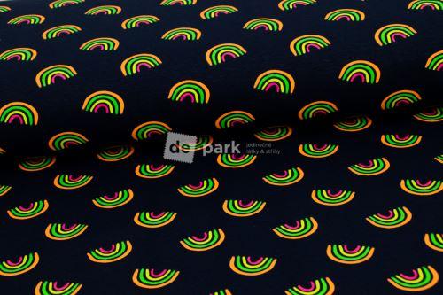 Úplet - Neon potisk - Duha
