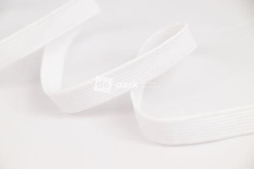 Guma - biela - 1cm