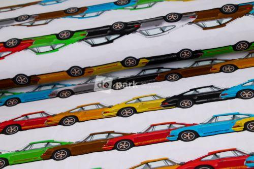 DESIGNED BY DE-PARK - úplet Porsche - barevné na bílé