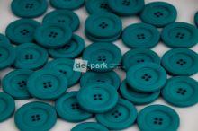 DE-PARK knoflíky - 3cm - petrolejová