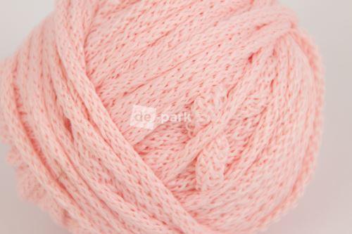 Šnúra guľatá - svetlo ružová