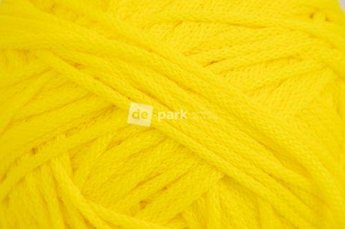 Šňůra kulatá - sluníčkově žlutá