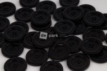 DE-PARK knoflíky - 3cm - černá