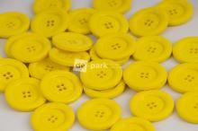 DE-PARK knoflíky - 3cm - žlutá