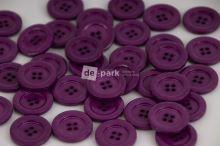 DE-PARK knoflíky - 2cm - fialová