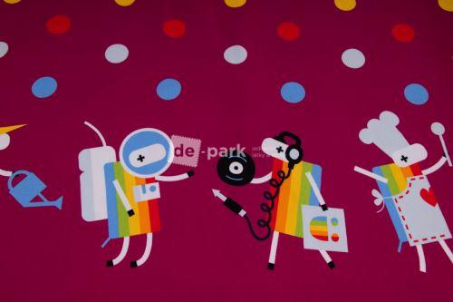 DESIGNED BY DE-PARK - bordúra Ovečky z Déčka - bordo