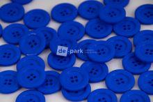DE-PARK knoflíky - 2cm - královsky modrá