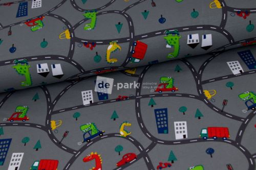 Úplet - Dinouši ve městě