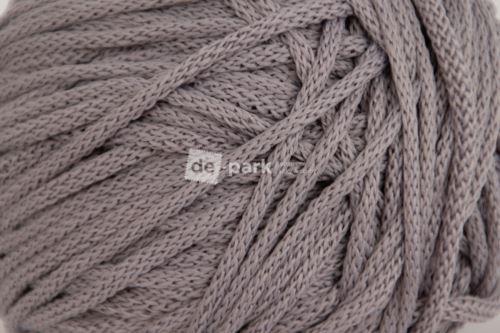 Šňůra kulatá - středně šedá