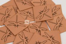 Koženkový štítek - VÁŽKA - měděná