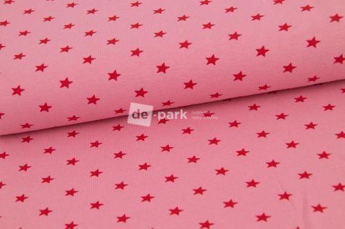 Náplet - hviezdičky svetlo ružové