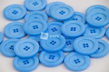 DE-PARK knoflíky - 3cm - světle  modrá