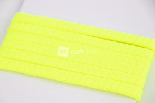 Šnúra - neon žltá