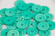 DE-PARK knoflíky - 3cm - tmavá mintová 623