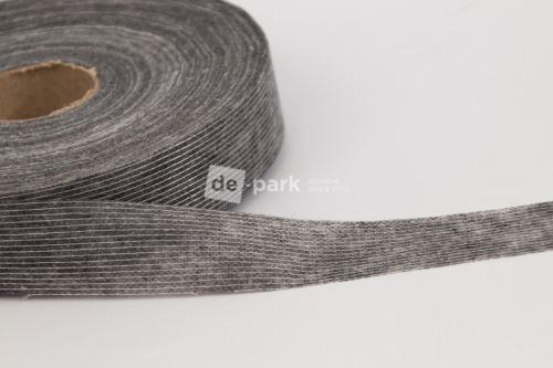 Vlizelínový pásek - černý