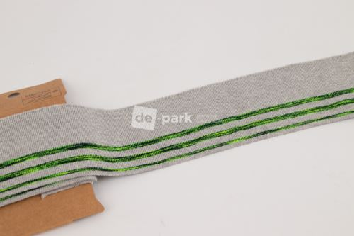 Náplet - neón prúžok - zelený