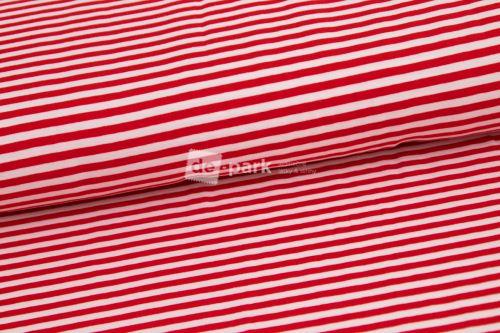 Úplet - Prúžok tenký - červený