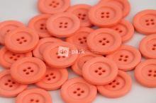 DE-PARK knoflíky - 2cm - lososová