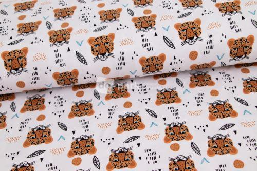 Úplet - Gepard na bílém
