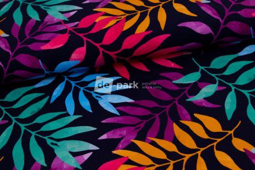DESIGNED BY DE-PARK - Teplákovina - Duhové listy