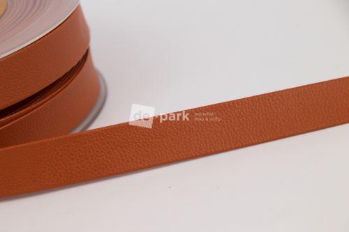 Lemovací pásek koženkový - velbloudí