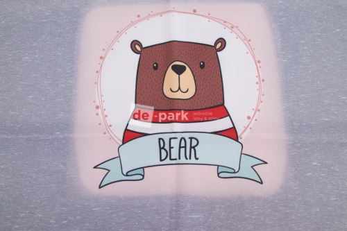 DESIGNED BY DE-PARK - Panel BEAR - zimní softshell