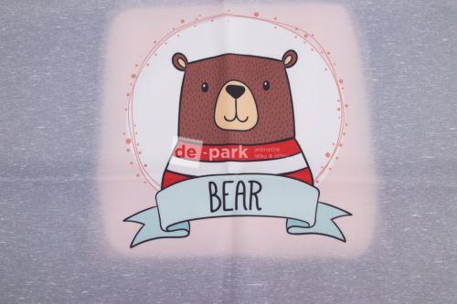 Panel - zimné softshell - BEAR
