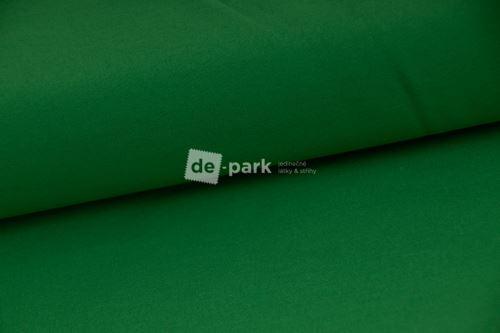 Zimný softshell 10/3 - tmavo trávovo zelený