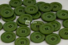 DE-PARK knoflíky - 3cm - zelená