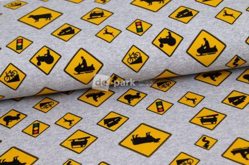 Teplákovina - Žluté značky