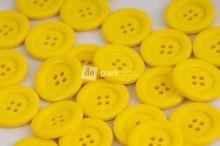 DE-PARK knoflíky - 2cm - žlutá