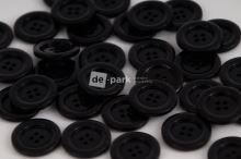 DE-PARK knoflíky - 2cm - černá 999