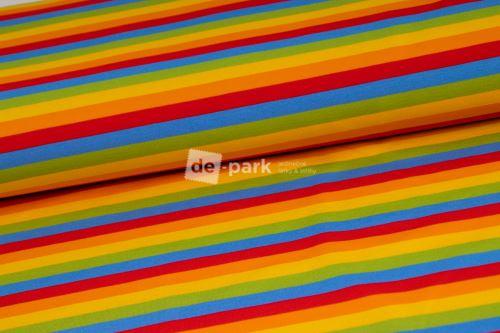 DESIGNED BY DE-PARK - teplákovina Ovečky z Déčka - pruhy