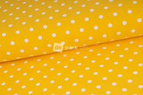 Puntíkatá žltá teplákovina - 125