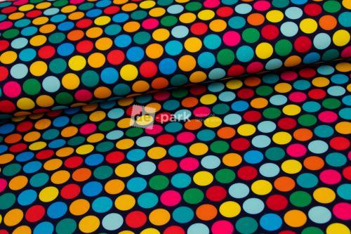 DESIGNED BY DE-PARK - Kočárkovina / lehátkovina - Pestrobarevné puntíky